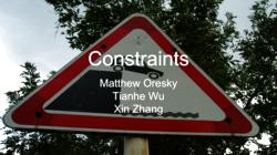 [PRESENTATION] Table Constraints