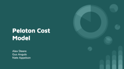 [PRESENTATION] Query Optimizer Cost Model